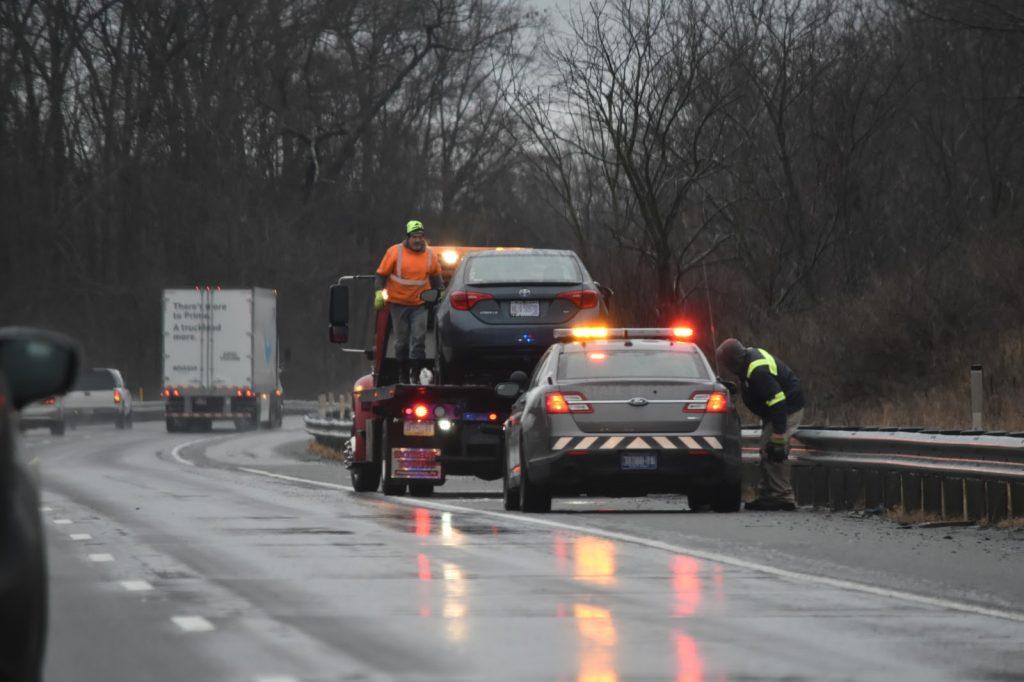 Impact accident automobile